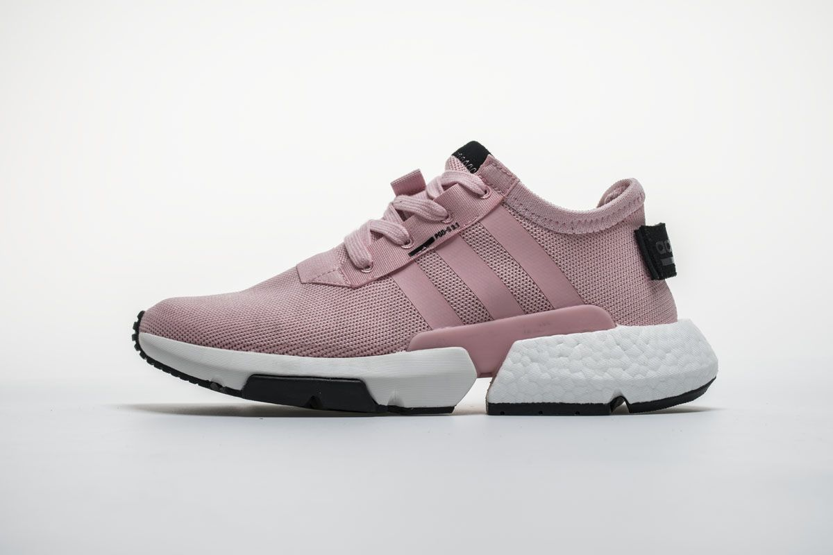 new arrival 846ff b548b Adidas POD S3.1 Boost B37468 Pink White Black Girls Shoes you will get a
