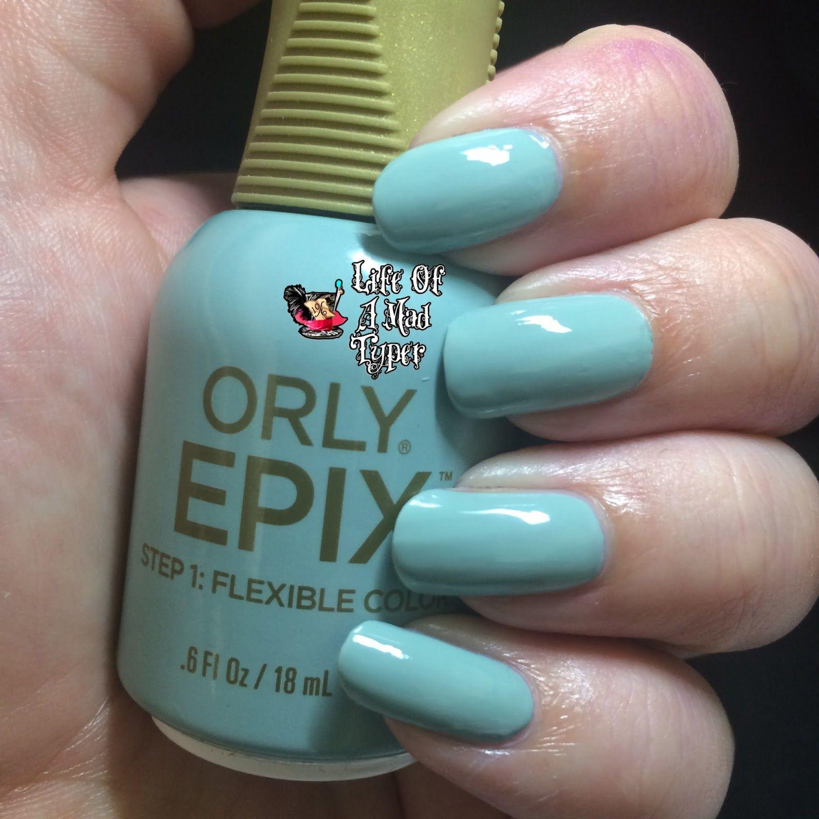 Orly Epix Flexible Color Nail Polish in Cameo | Nail polish | Pinterest