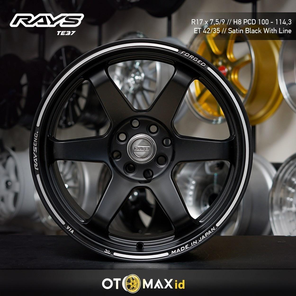 Otomax Store Berbicara Tentang Velg Volk Rays Te37 Untuk