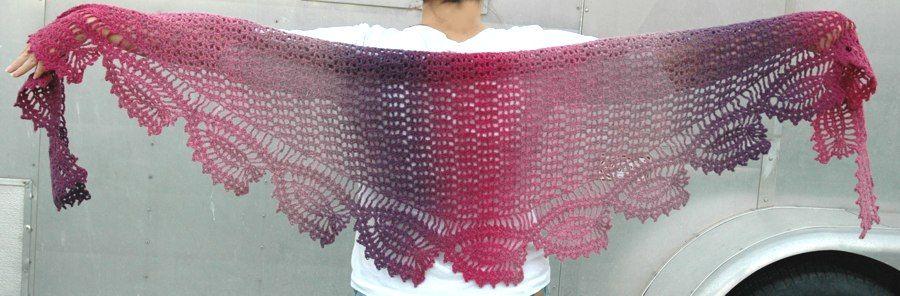 ABC Knitting Patterns - Tulip Reverie Shawl   Crochet - Shawls ...