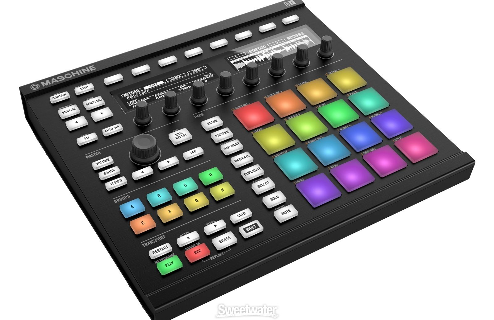 Native Instruments Maschine Mk3 Production And Performance System With Komplete 12 Select Native Instruments Modern Music Instruments