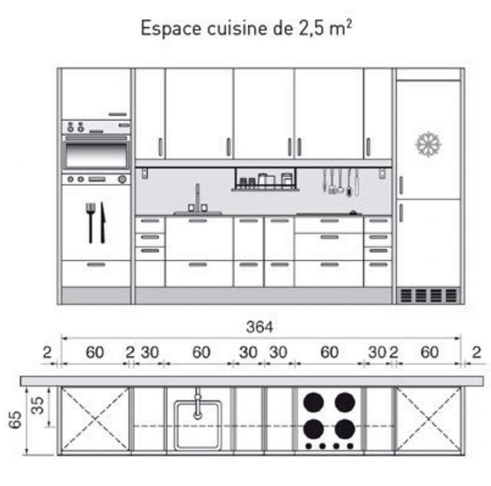 Superior Misure Cucina, Progetti Di Cucine, Progetti Per Cucine, Idee Per La Cucina,  Disegni Tecnici, Interni Della Cucina, Cucina Abitabile, Piccole Cucine, ...