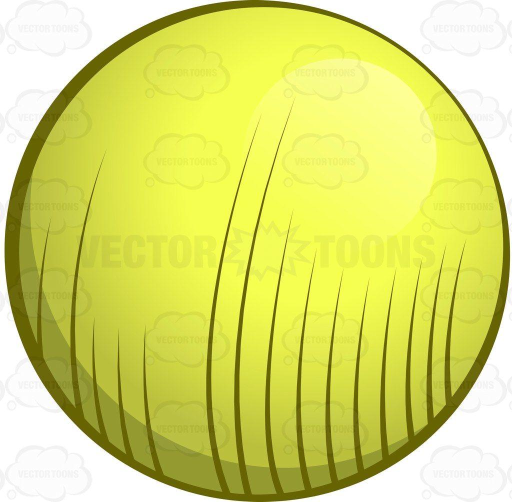 An inflatable toning ball for exercise #cartoon #clipart #vector #vectortoons #stockimage #stockart #art