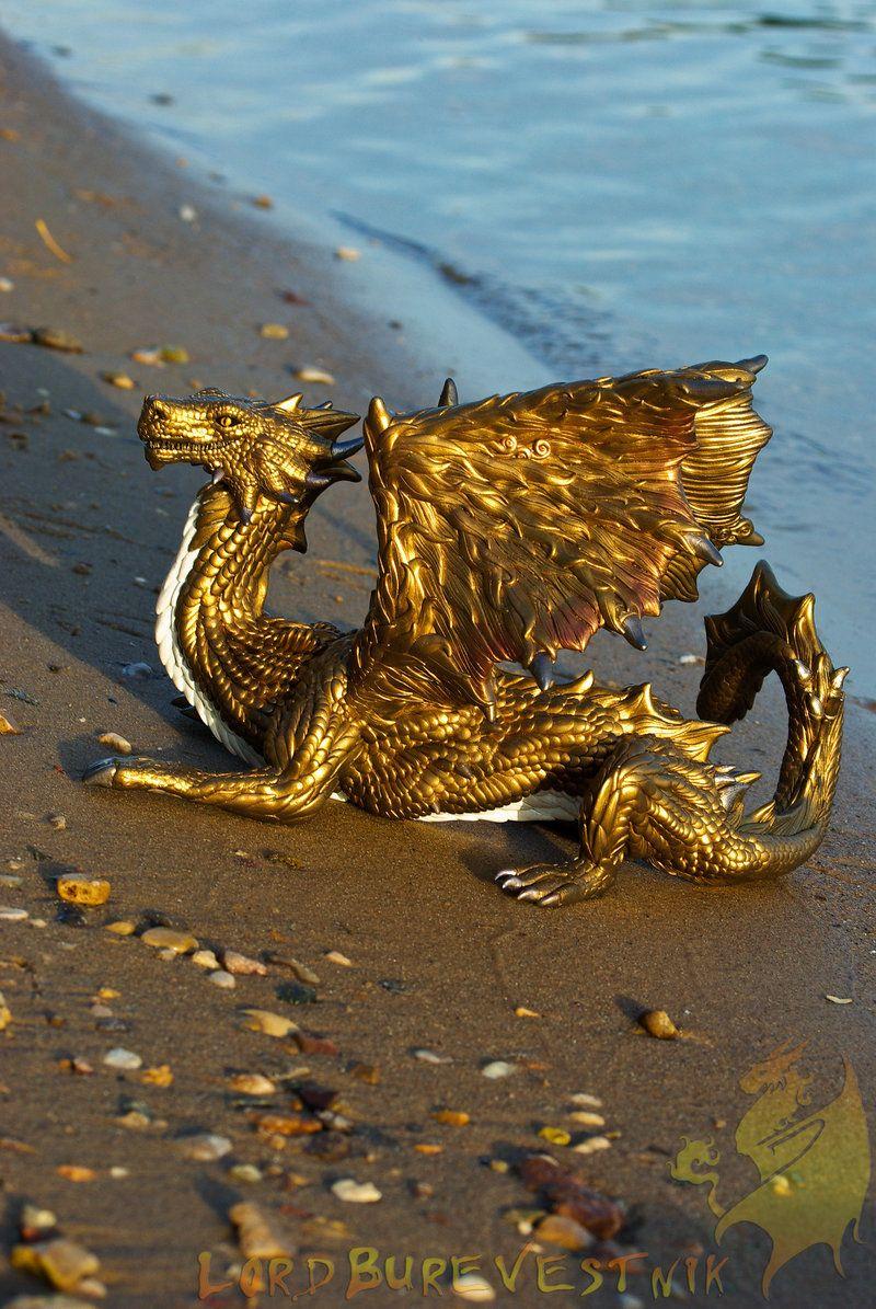 Bronze dragon Christopher  commission 2 by LordBurevestnik.deviantart.com on @deviantART