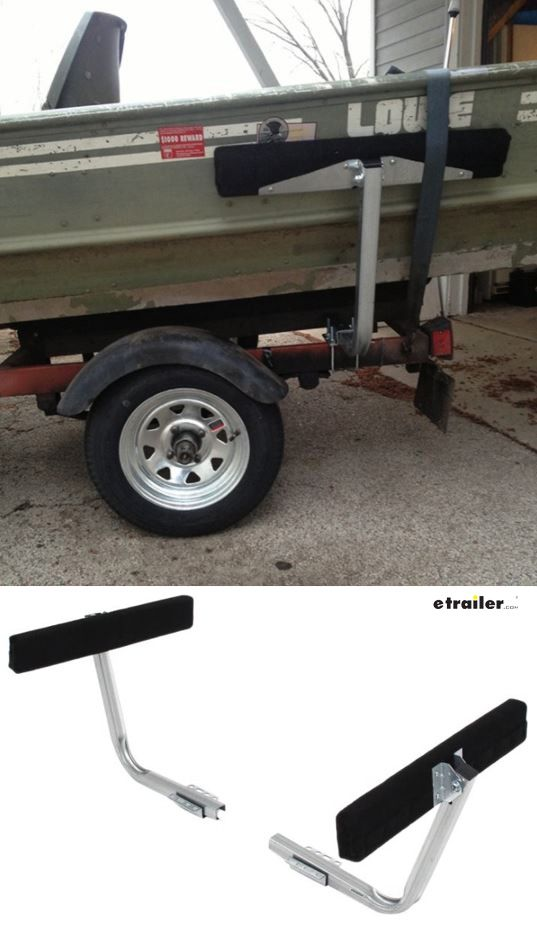 Trailer Bunk Board Guide-On,2/'-Replacement Parts /& Accessories For Your Ski Boat