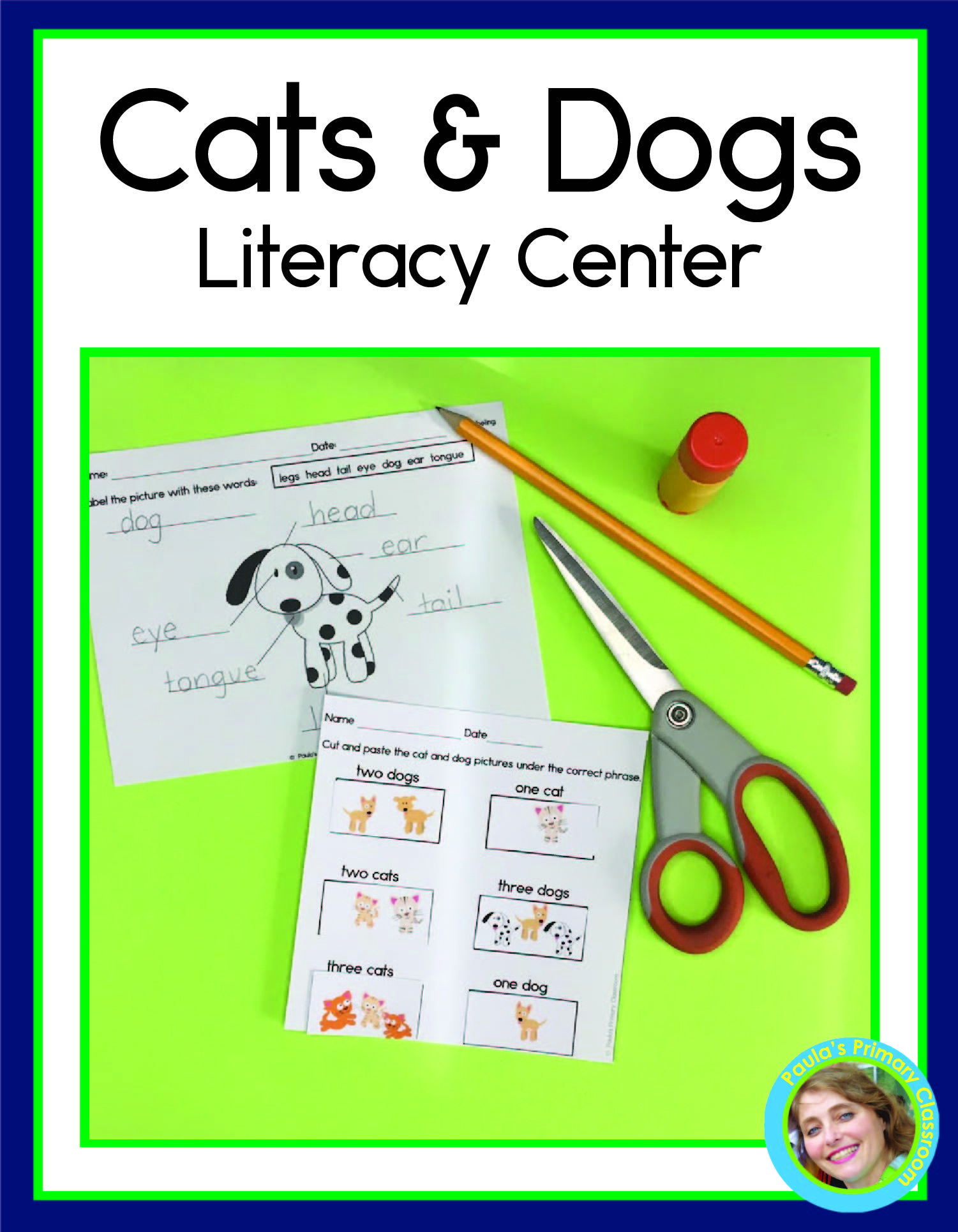 Cats And Dogs Reading And Writing Activities Literacy