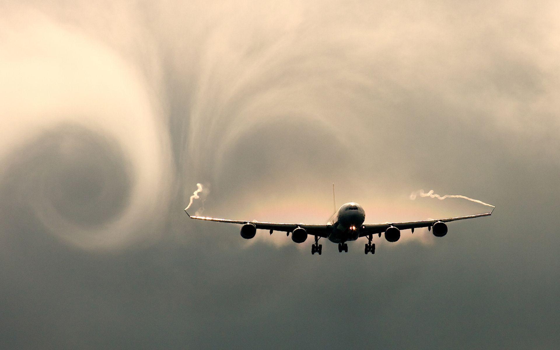 fond d'ecran avion