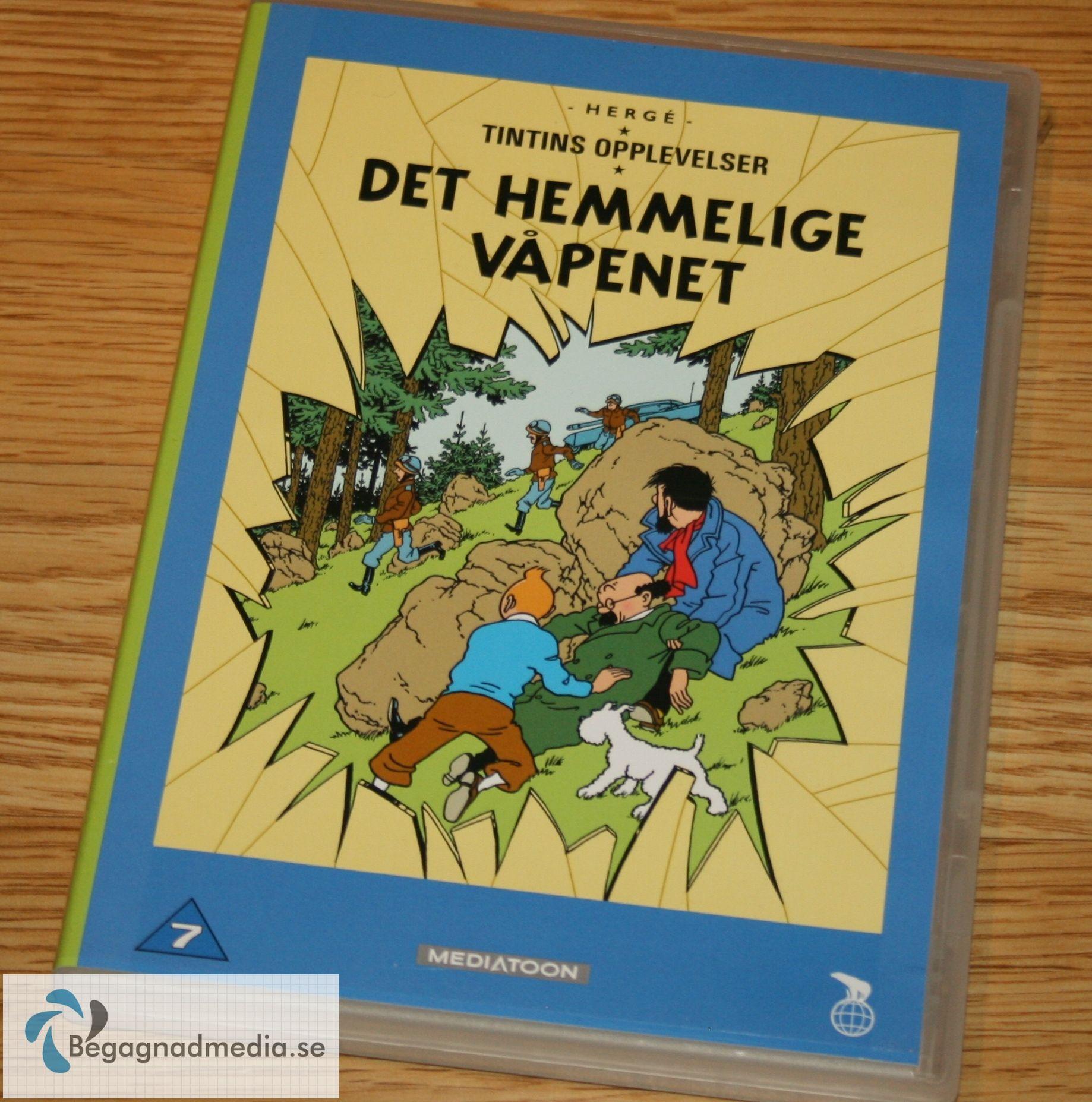#Tintin#Det#Hemmelige#Vapenet#Dvd