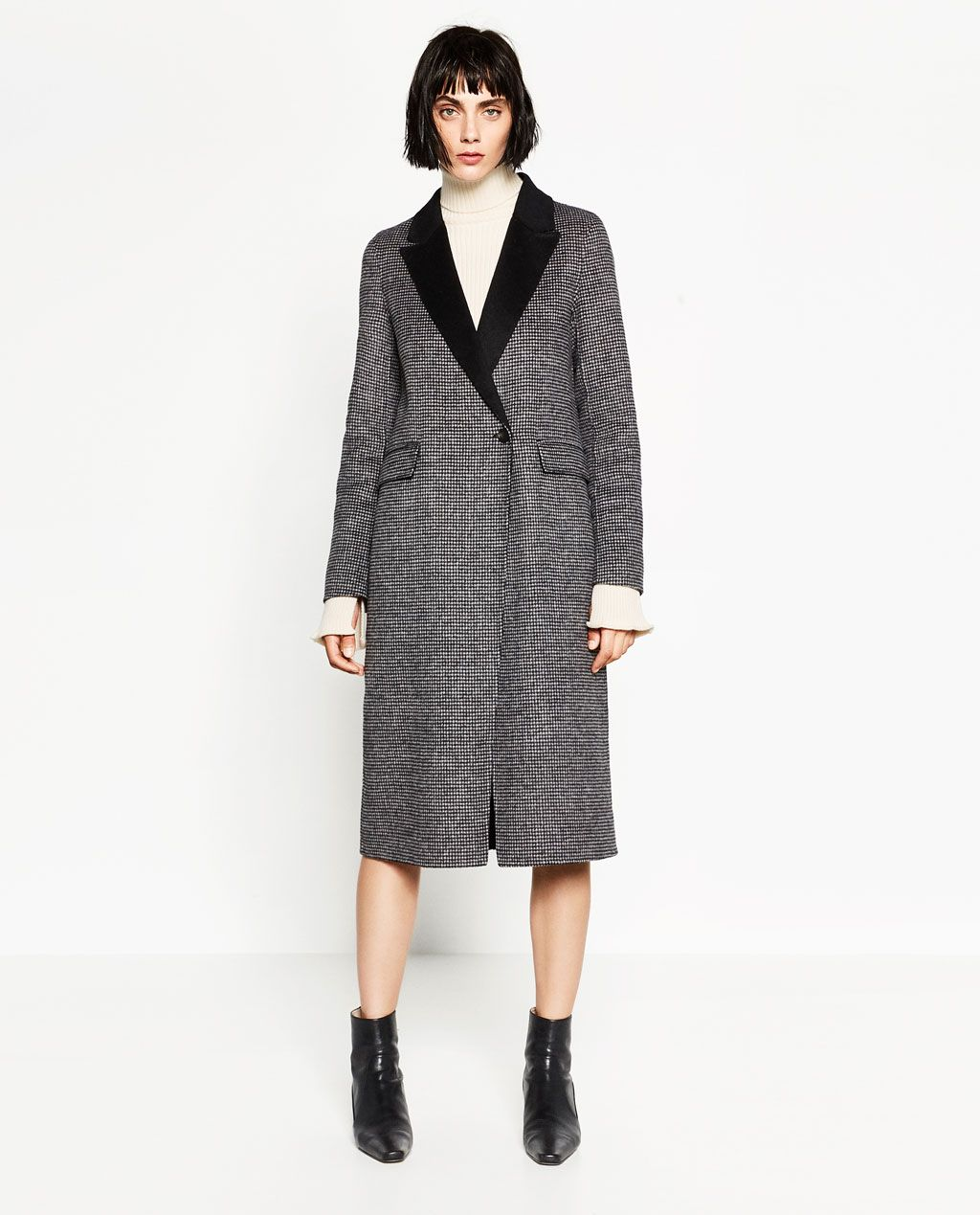 HAND MADE WOOL COAT-View all-OUTERWEAR-WOMAN | ZARA Turkey | outer ...
