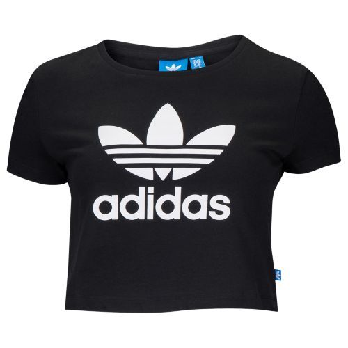 adidas Originals Trefoil Slim Slim Trefoil T Crop T Shirt Mujer | 60c9831 - burpimmunitet.website