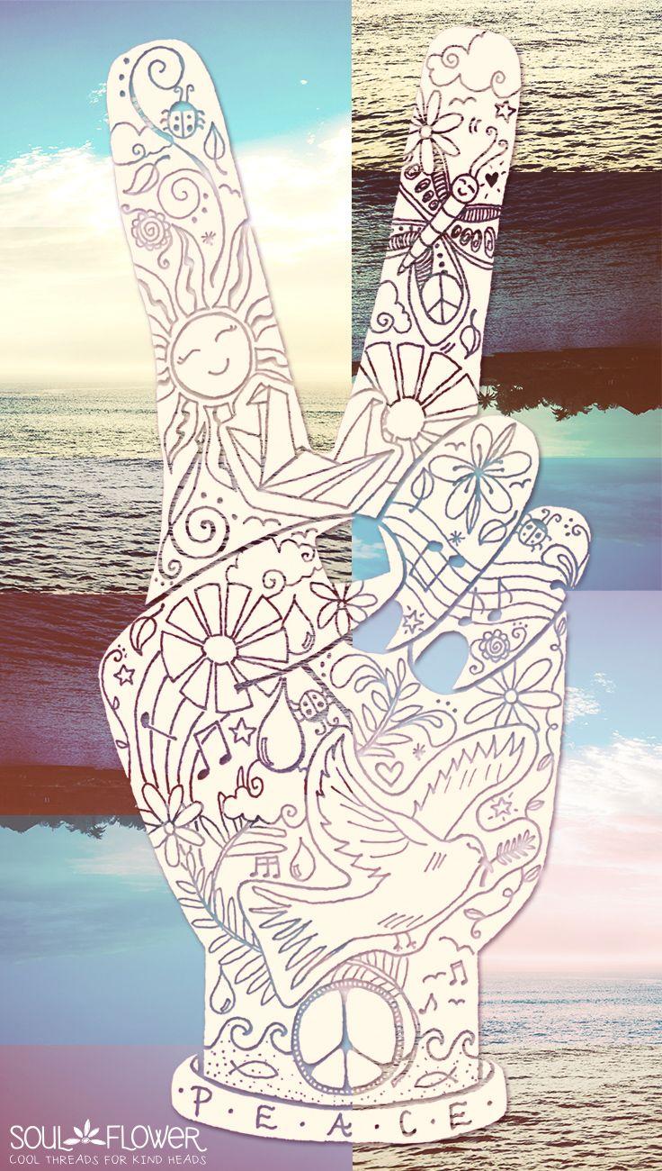 Peace, Love, Summer #soulflower | Soul Flower Shop