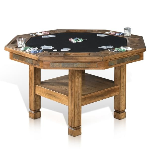 Order The Convertible Poker U0026 Dining Table Sedona By Sunny Designs #1005RO  In Rustic Oak Today. FREE Shipping And Insurance On All Of Our Sunny  Designs ...
