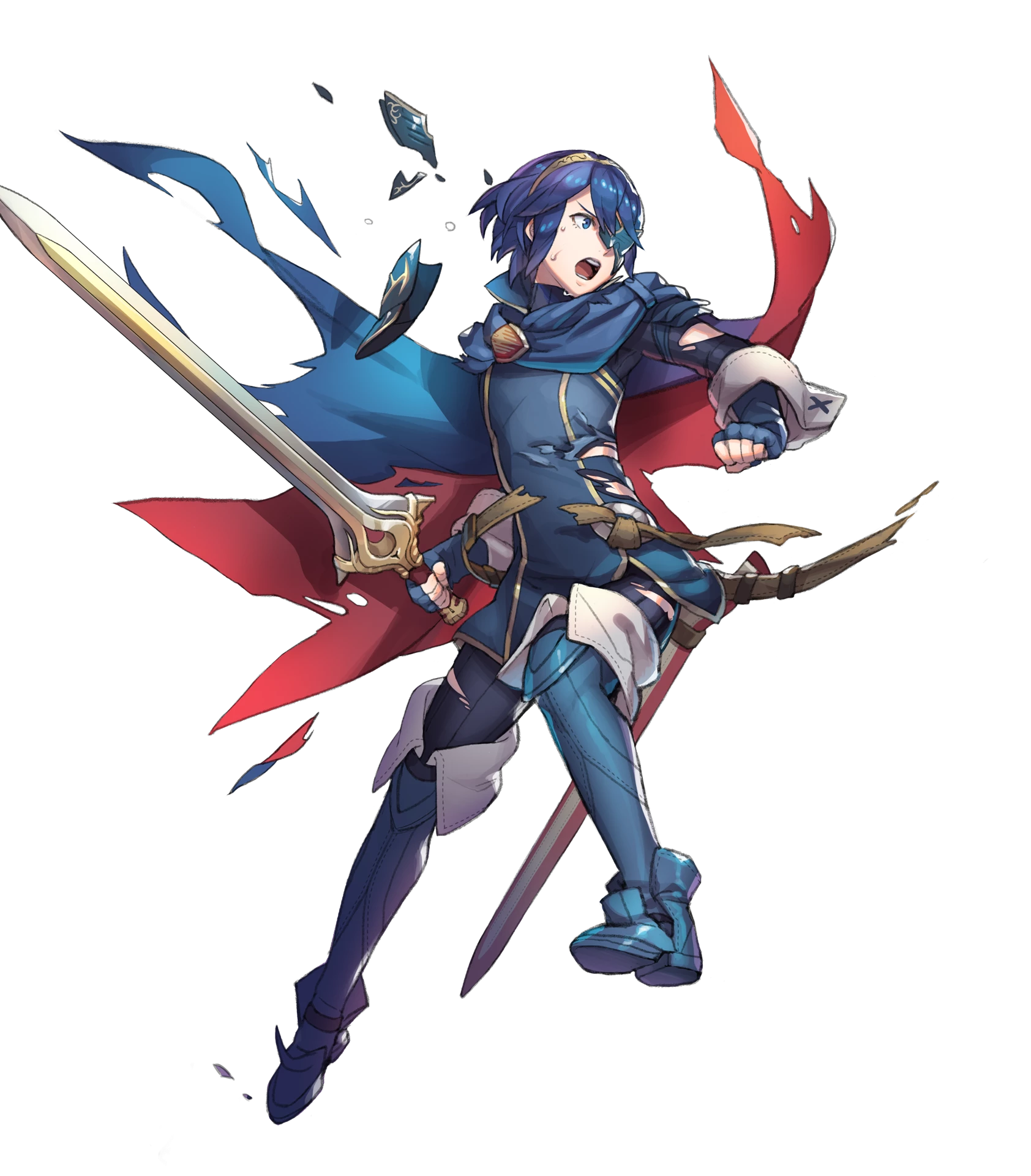 Full_Injured_Lucina_(Masked).png (PNG Image, 1684 × 1920