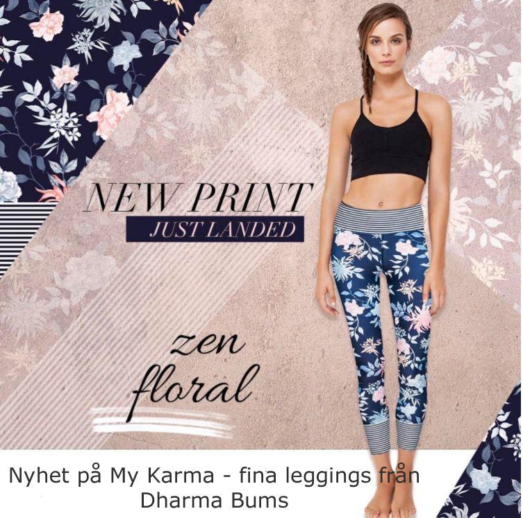 Superfina leggings från Dharma Bums- Nu i Sverige. Köp yogakläder online i  vår webbshop 7f54934697532