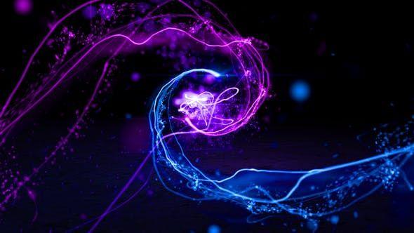 Particle Light Logo(Premiere)