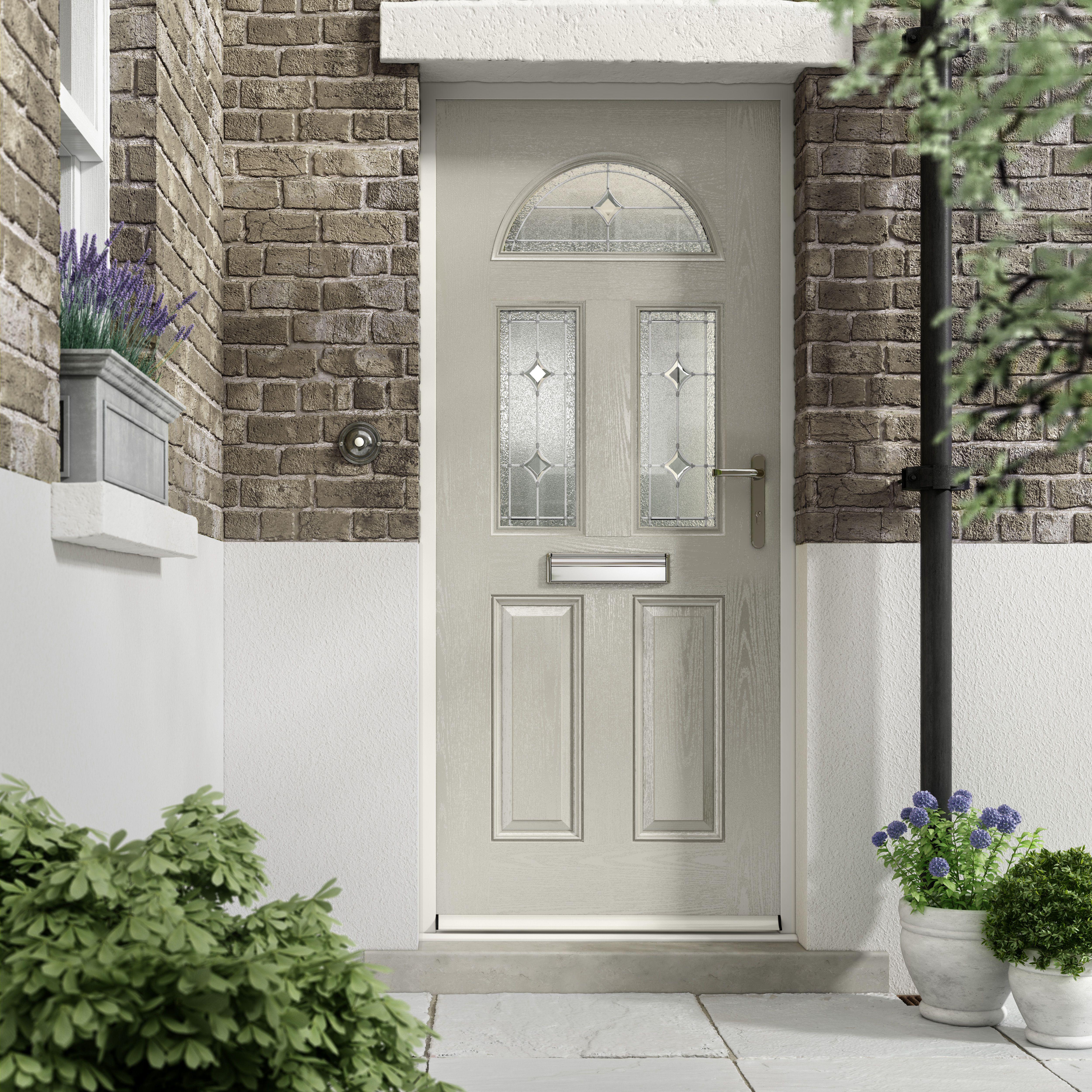 on sale 6aad6 a8d31 Silk Grey Composite door in Distinction's Nxt Gen range from ...