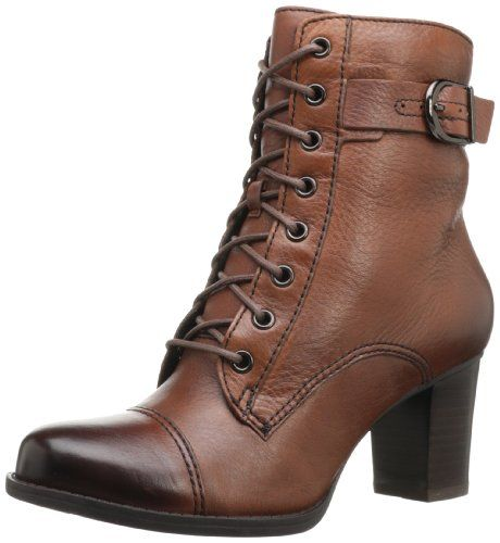 Clarks Women's Jolissa Gypsum Boot,Brown,6 M US Clarks,http