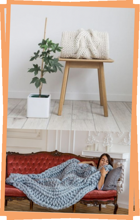 Photo of Happiness Blanket Knit Kit In JOY Chunky Yarn  2019 – Yarn Ideas
