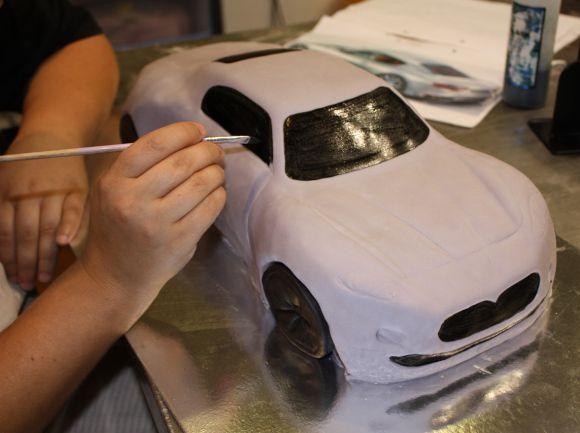 How To Make Maserati Car Cake Car Cake Car Cake Tutorial Car Cakes For Boys