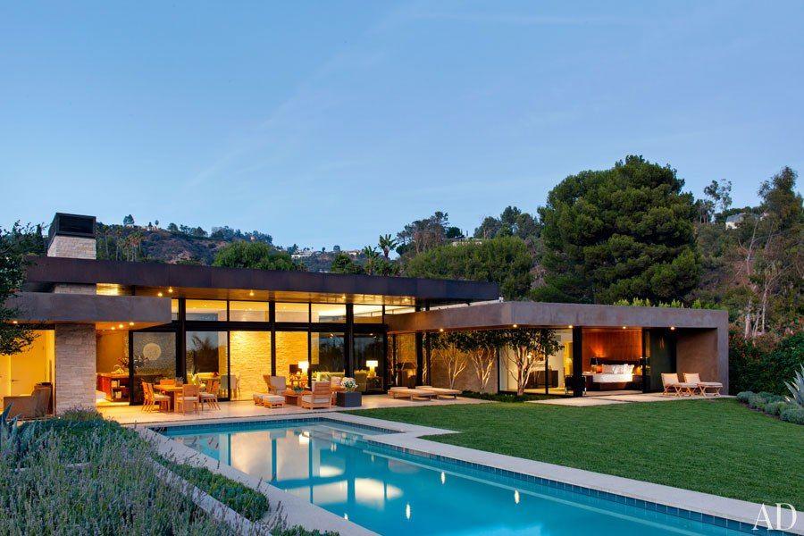 Marmol radziner beverly hills ca fachadas for Casa minimalista harborview hills