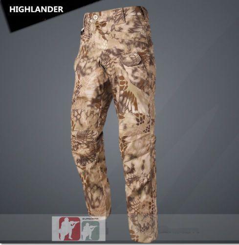 73eca279cb3f7 HIGHLANDER-Urban-Tactical-Pants-Ripstop-IX7-Combat-Cargo-Trouser-Hunting- Kryptek