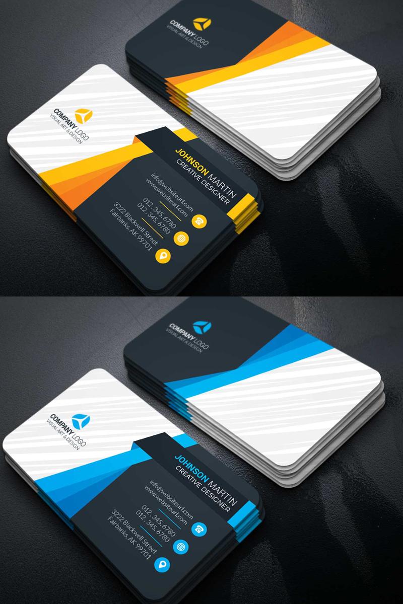 Martin Business Card Corporate Identity Template Business Cards Corporate Identity Professional Business Card Design Graphic Design Business Card