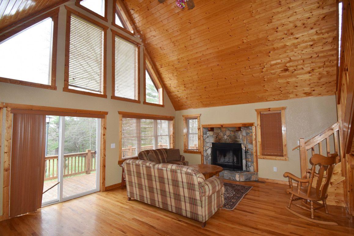 Mountain Cabin Alleghany County NC Log cabin living