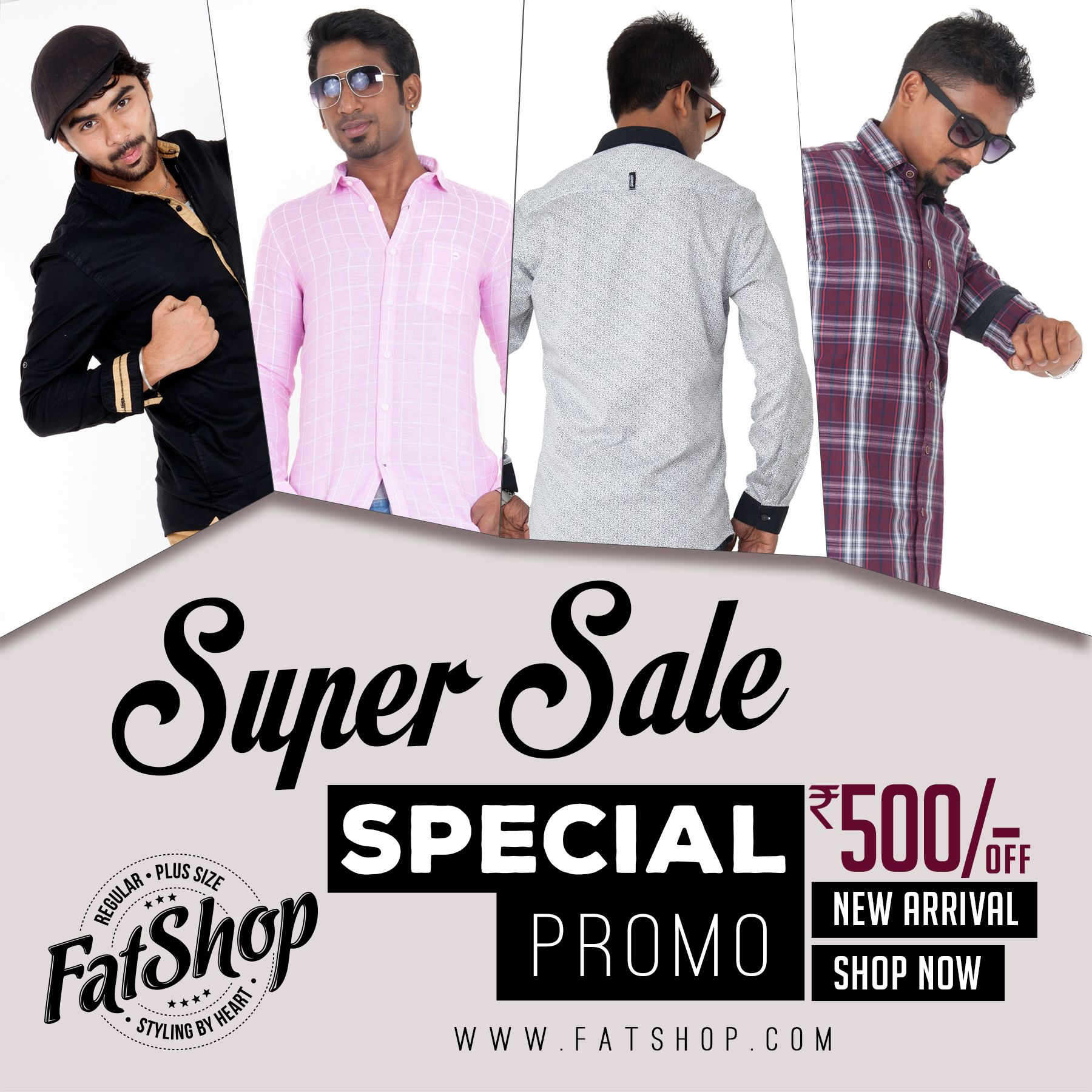 #OnlineFashionSale - Flat UP to 32% of on Men's apparel - Shop Now https://goo.gl/YF7Q1h Promo code - GET500.
