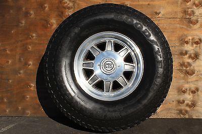 Set Of 4 17 Hummer H1 Wheels Tires Ctis Am General Hutchinson 1 Piece Aluminum Hummer Parts Hummer H1 Hummer