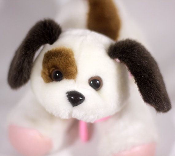 Vintage Cute Cap Toys 1990s 90s Tuggles Walking Dog Plush Cute