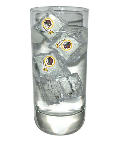 dd4e1e3cca94b Take a look at this Washington Redskins Light-Up Ice Cube - Set of Four by  Evergreen on  zulily today!