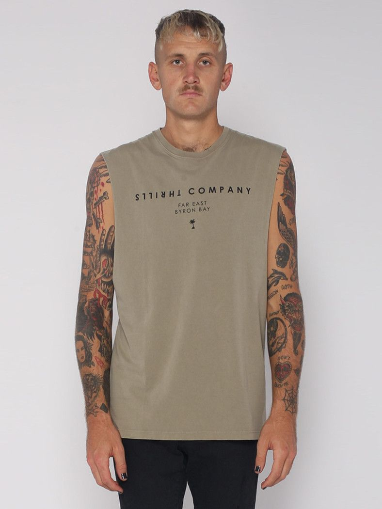 Local Muscle - Army Green - THRILLS CO - 1