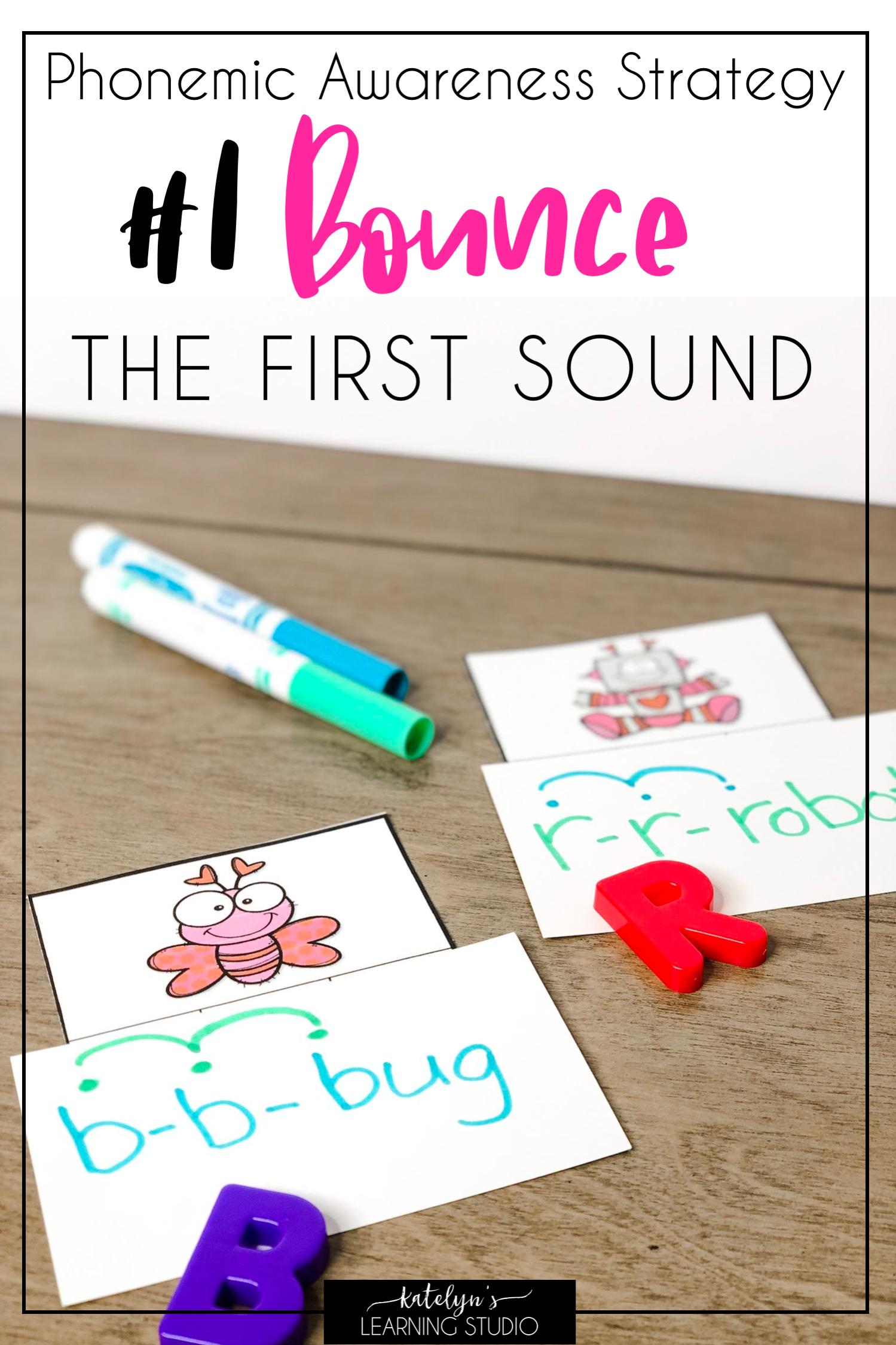 Phonemic Awareness Activities For Kindergarten Or First