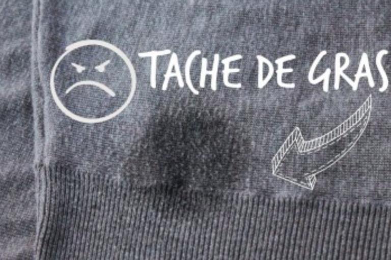 Une Astuce Pour Retirer Facilement Les Taches De Graisse Sur Les Vetements Tache De Gras Enlever Tache De Gras Et Tache