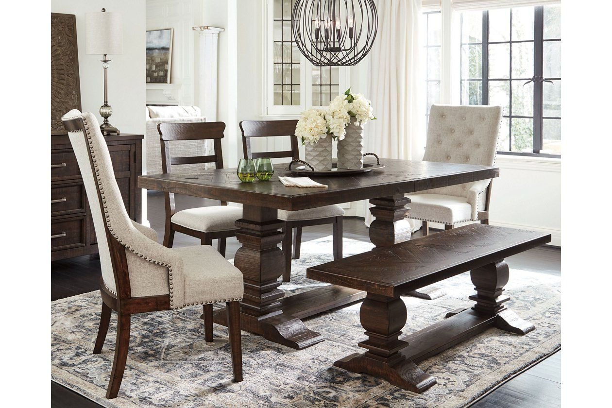 15+ Dining table bench and 4 chairs Trend