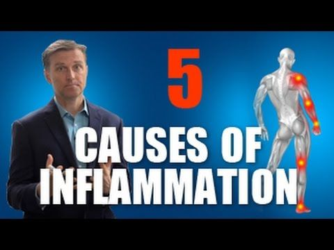 Stop The 5 Causes Of Inflammation Fast Inflammation Dr Eric Berg Doctor Of Chiropractic