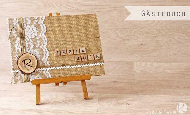 kreativ oder l ckentext g stebuch zur hochzeit geburtstag rustikal vintage holz. Black Bedroom Furniture Sets. Home Design Ideas