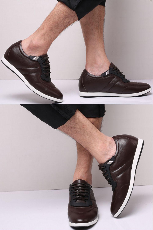 Meskie Buty W Odcieniach Brazu Ze Skory Naturalnej Filippo Obuwie Z Podwyzszeniem 6cm Boat Shoes Shoes Fashion