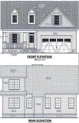 Complete House Plans 1 858 Sf Blueprint Plans House Plans House Blueprints Blueprints