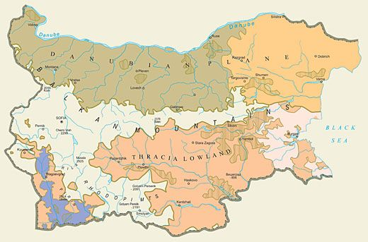bulgarian wine regions map wine drinks chocolate Pinterest