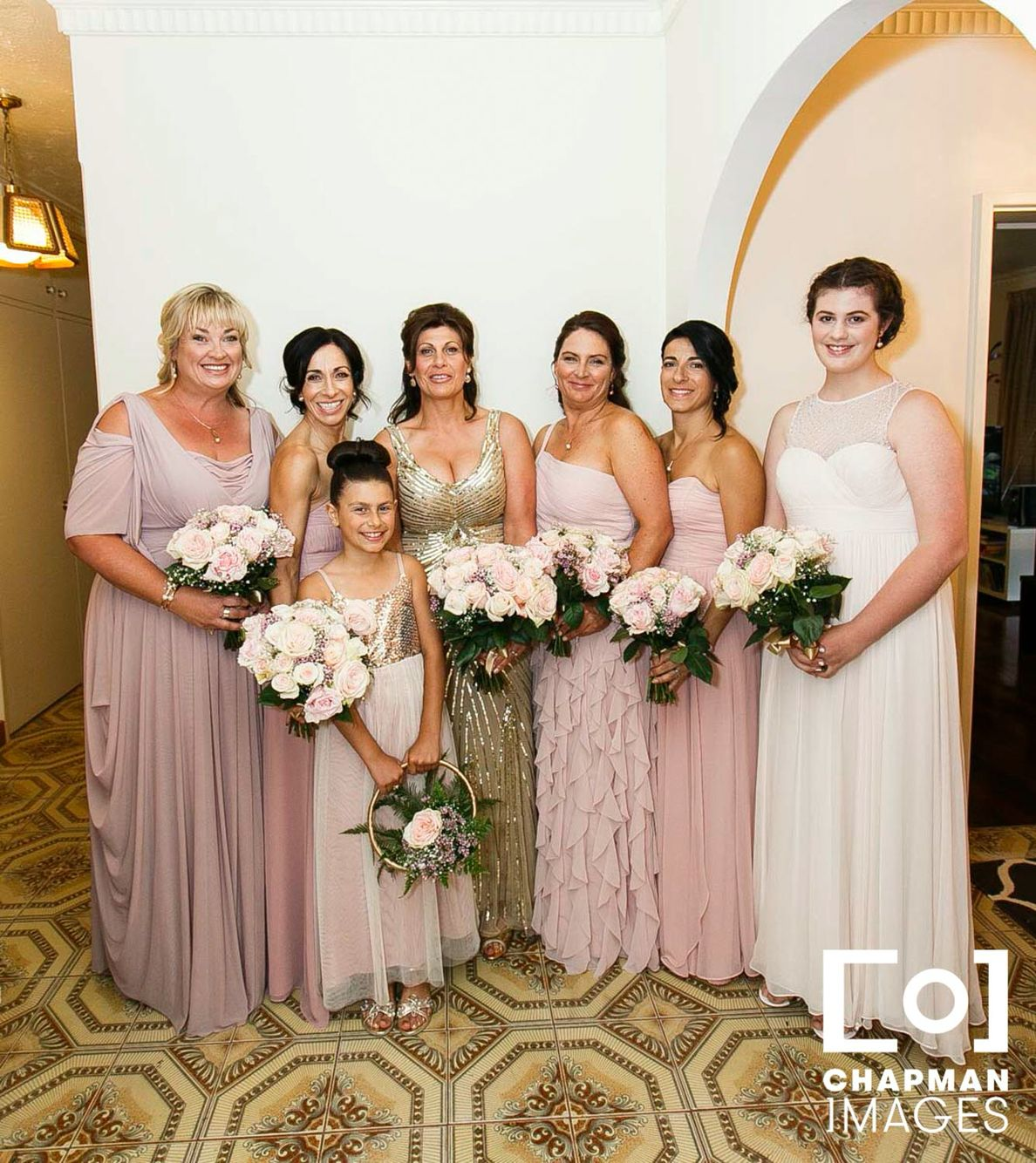 Antique rose bridesmaids gold and pale pink flower girl champagne antique rose bridesmaids gold and pale pink flower girl champagne wedding dress ombrellifo Images