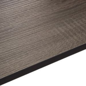 12 5mm Exilis Topia Dark Wood Effect Square Edge Laminate Worktop L 3 02m D 610mm Dark Wood Work Tops Stylish Kitchen