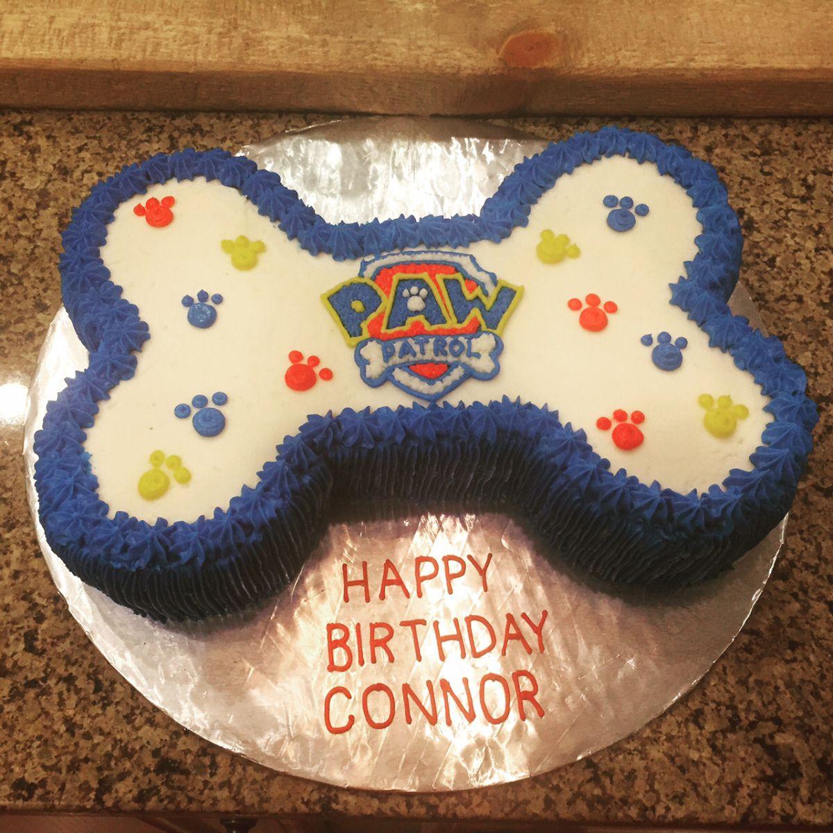 paw patrol cake and cookies  paw patrol birthday cake