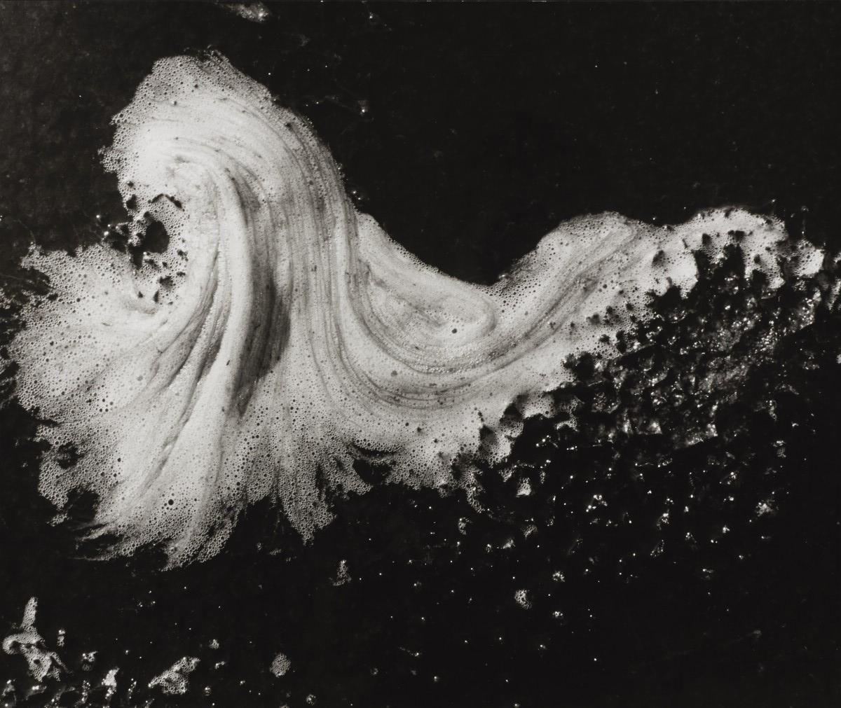 Lucien Clergue / Untitled (Schaumwelle/Water foam), c. 1970