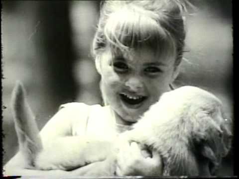 Vintage Ken L Ration Dog Food Commercial With Cute Kids Singing