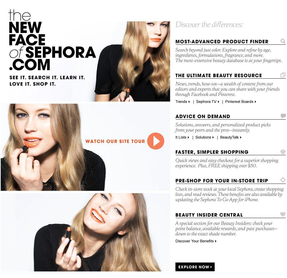 Sephora! Love the new face of Sephora! #SephoraColorWash # ...