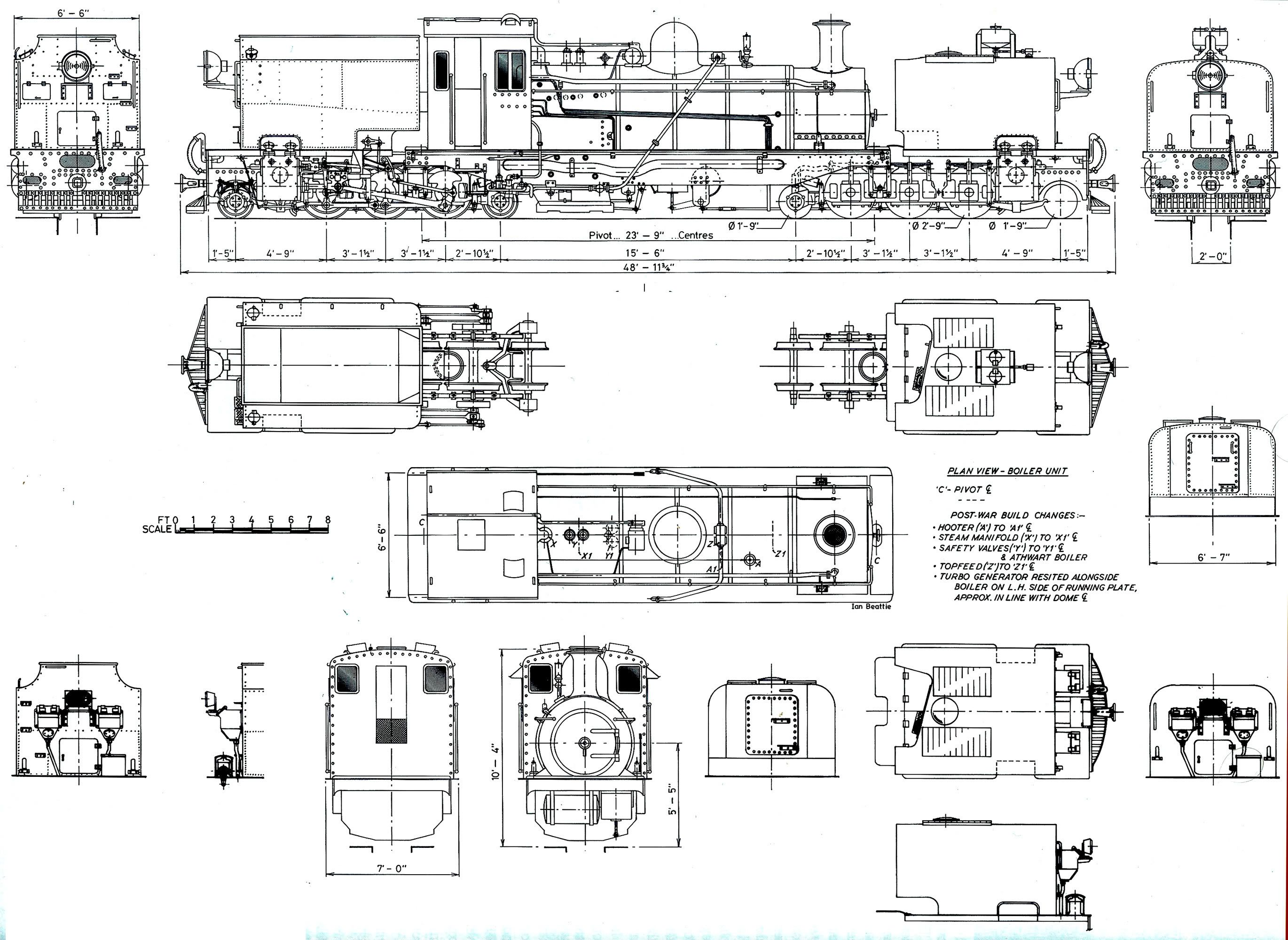 small resolution of more garratt steam locomotive south african railways boi projects train pictures