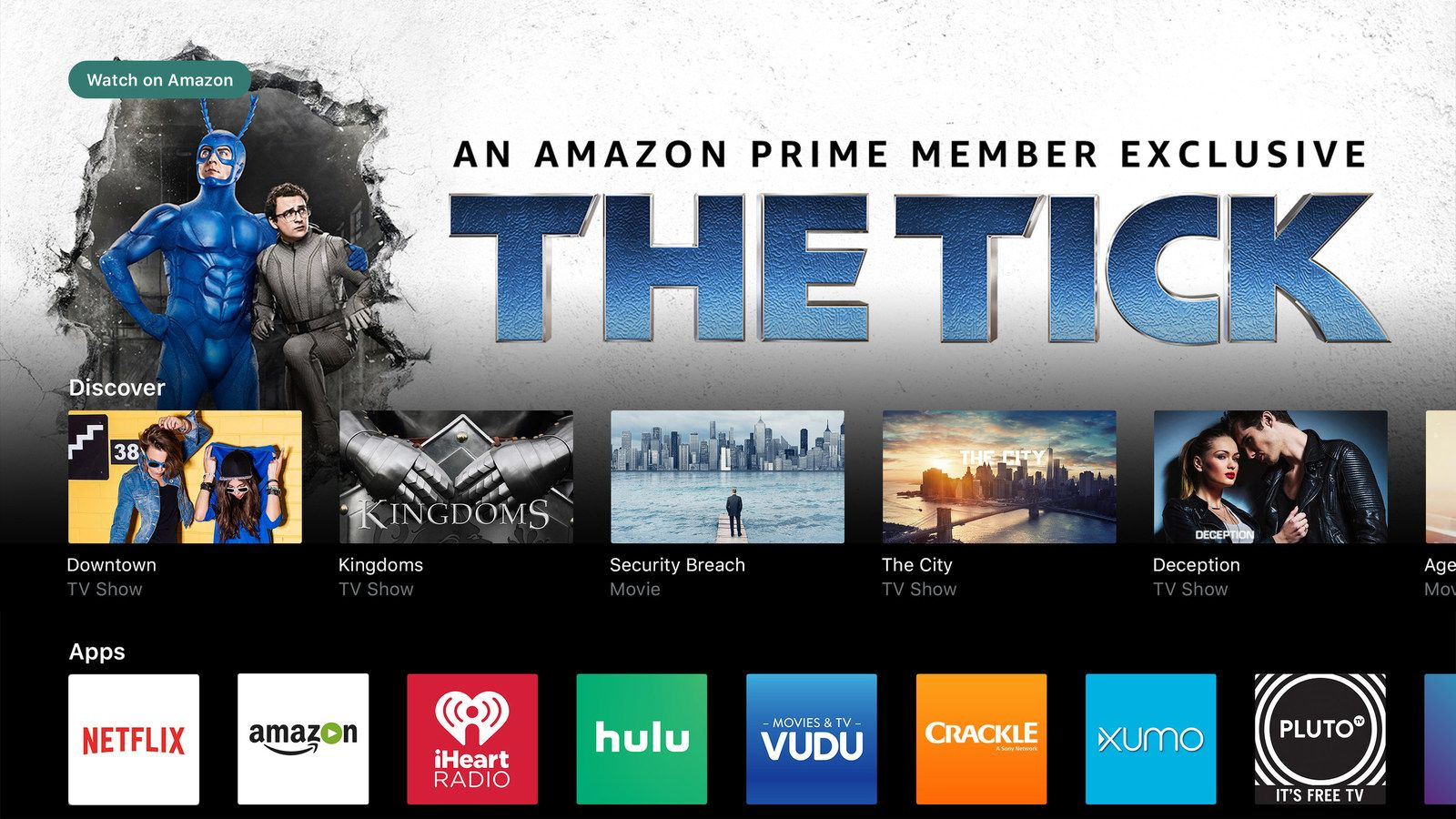 Vizio adds Amazon Video to its list of SmartCast TV apps