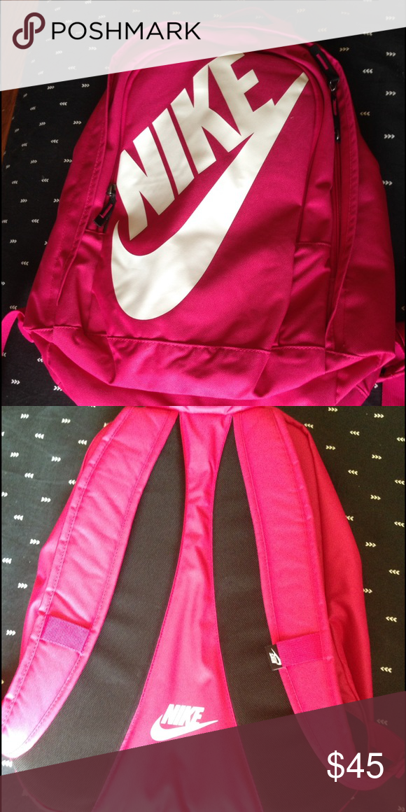 Hot pink Nike backpack Brand new. Never used ) Nike Bags Backpacks ... d7e34dca16c9f