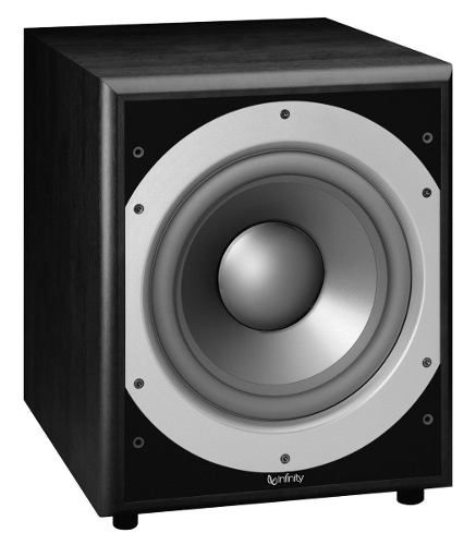 """Infinity Primus PS410BK 10"""" Powered Subwoofer $159 - http://www.gadgetar.com/infinity-primus-ps410bk-10-powered-subwoofer/"""
